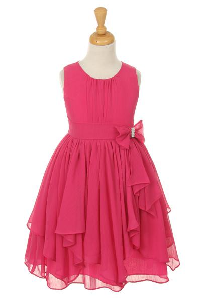 Hot Pink Girl Dress