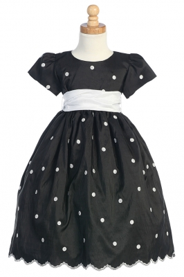 Black - Flower Girl Dresses - Flower Girl Dress For Less