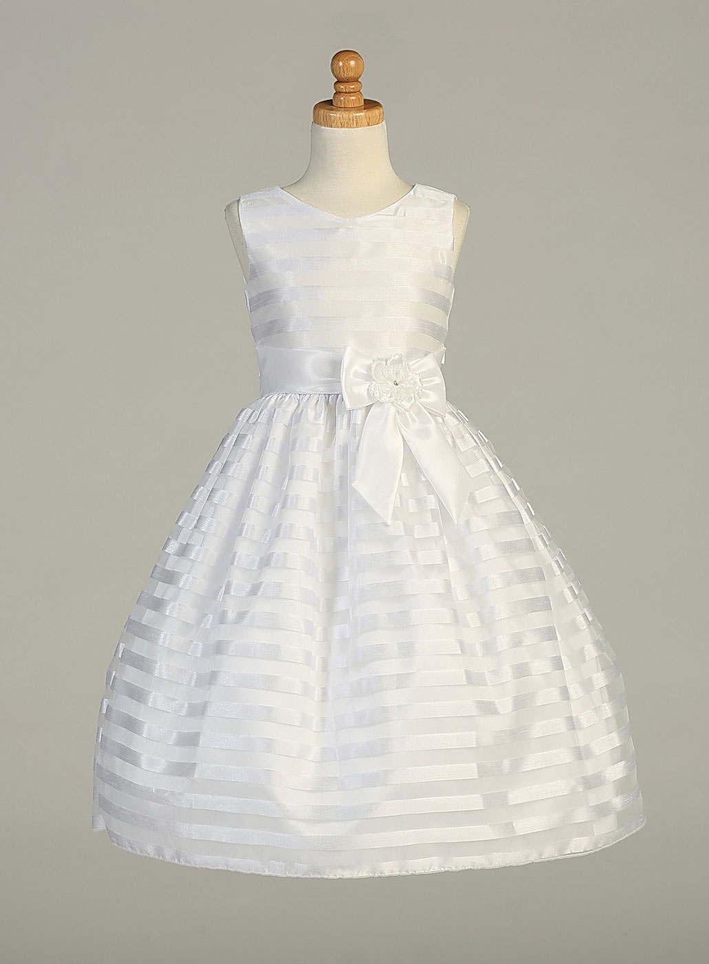 L SP121 Girls Flower Girl First Holy munion Dress Style SP121 Sleevele