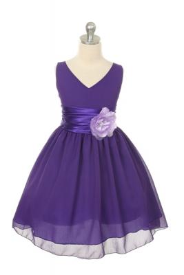 Plum - Flower Girl Dresses - Flower Girl Dress For Less