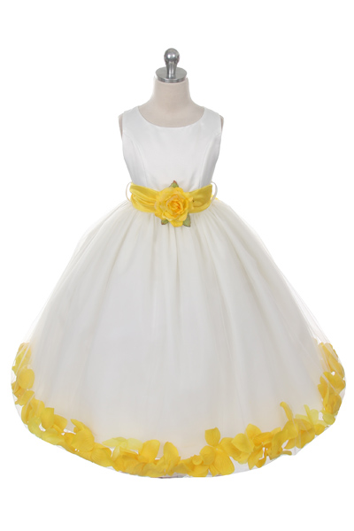Mb 152ivy Flower Girl Dress Style 152 Choice Of White Or