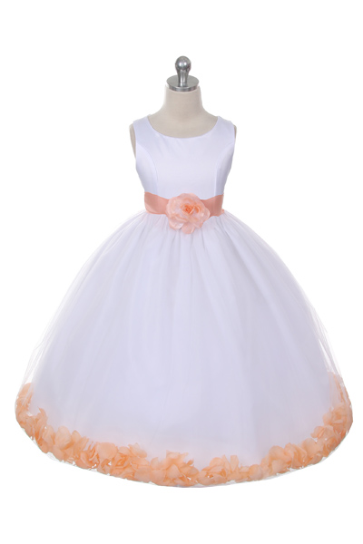 mb152wph flower girl dress style 152choice of white or