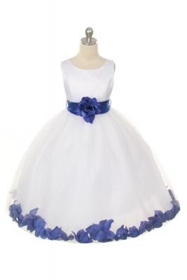 Royal Blue - Flower Girl Dresses - Flower Girl Dress For Less