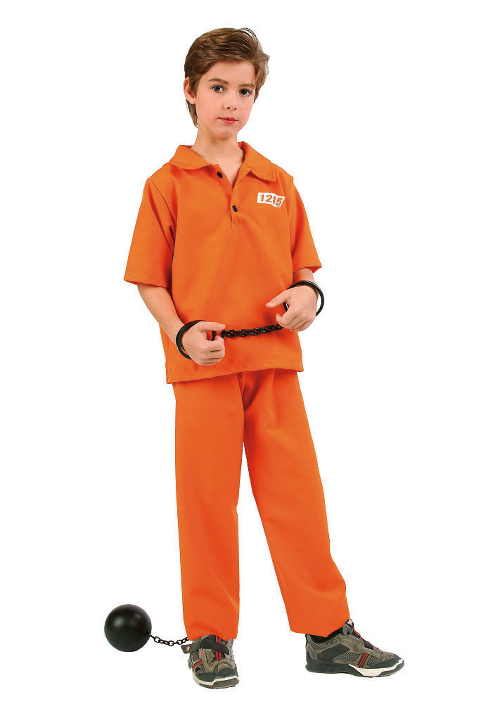 Boys Costume Style Guilty Jailor