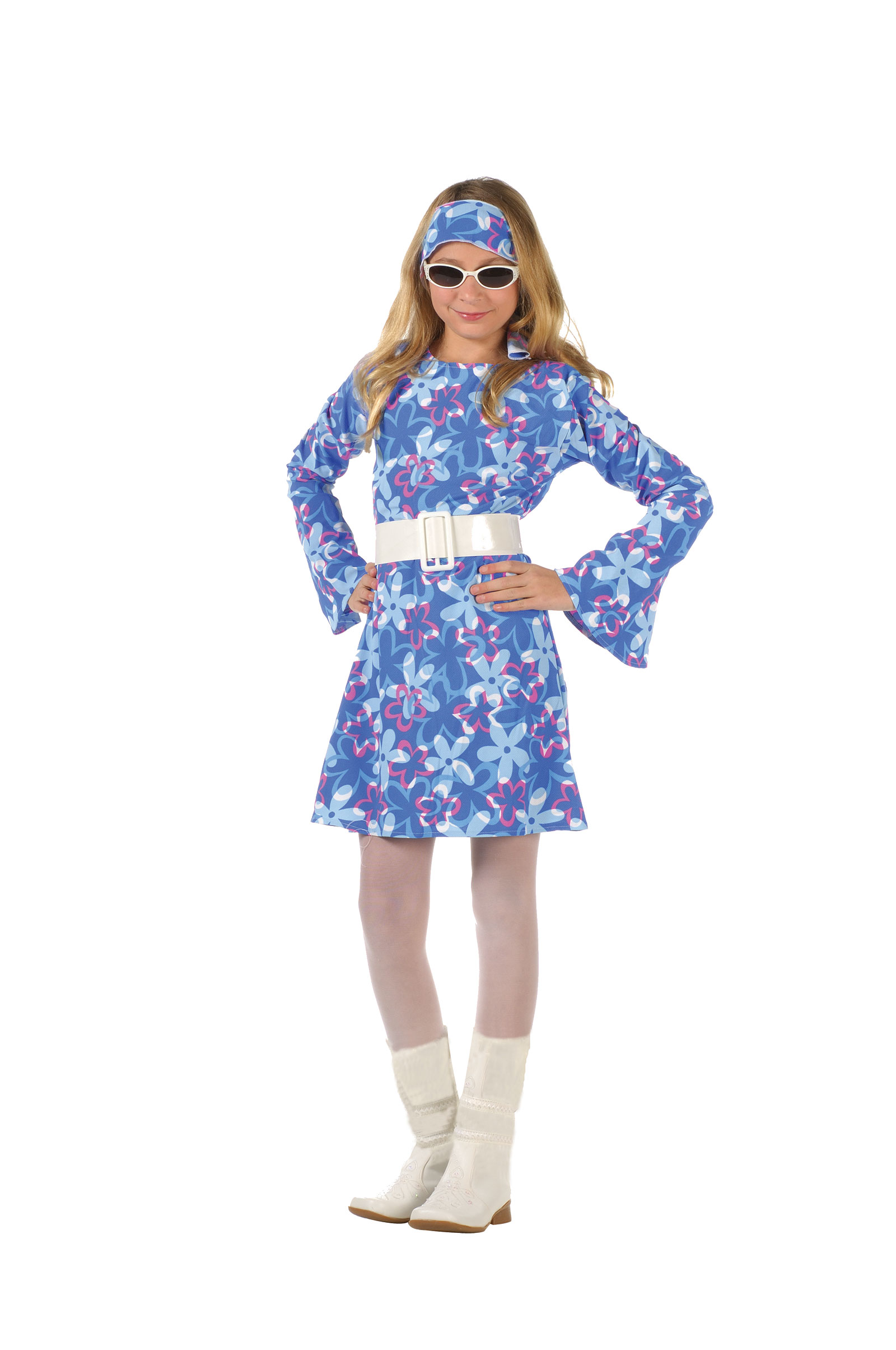 RG Girls Costume Style 70s Fever 1970s Flower Girl Dresses