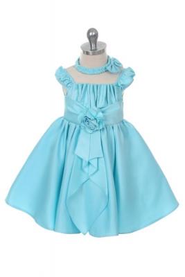 Turquoise - Flower Girl Dresses - Flower Girl Dress For Less