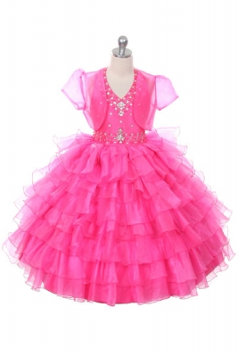 Hot Pinks and Fuchsia - Flower Girl Dresses - Flower Girl Dress ...