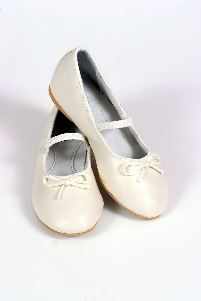 TT_S26_S27_SALE - Fancy Ballet Shoe - SALE Ivory size 5 (infant ...