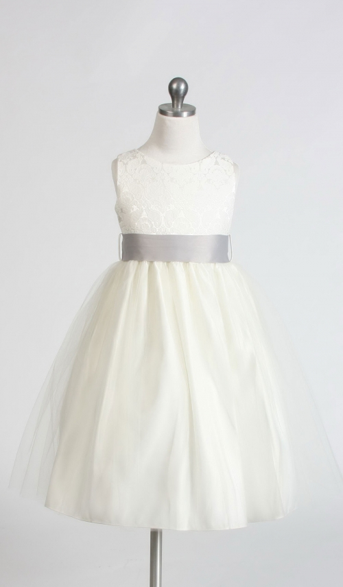 63dd59b93895 SK 394 13 - Girls Dress Style 394- OFF WHITE BUILD YOUR OWN DRESS ...