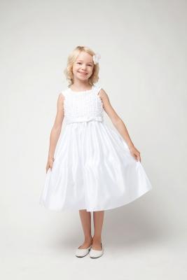 White Flower Girl Dress - Flower Girl Dress For Less