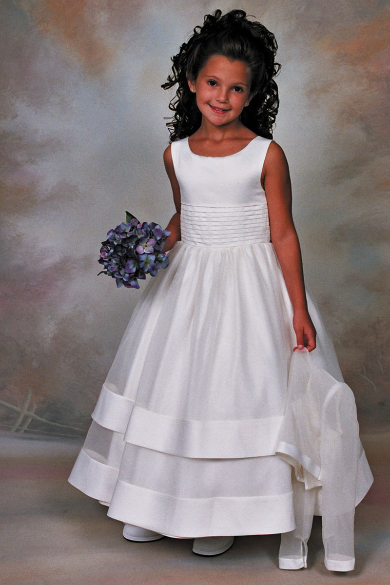 Sp 106 Sweetie Pie Collection Flower Girl Dress