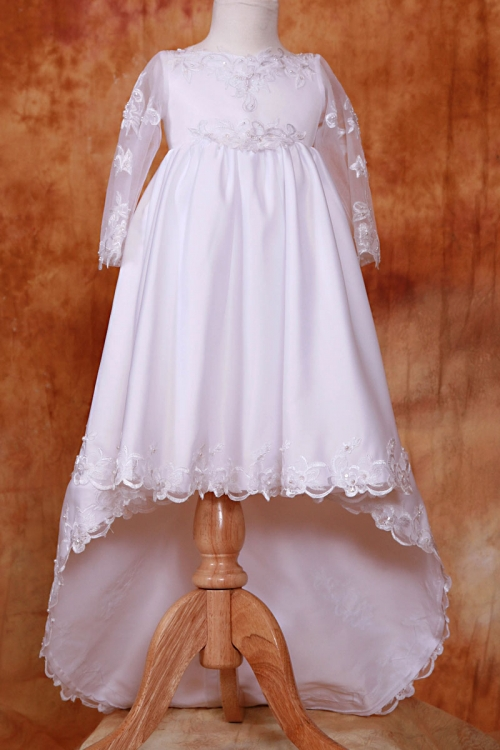 Long Sleeve Dresses for Baptism