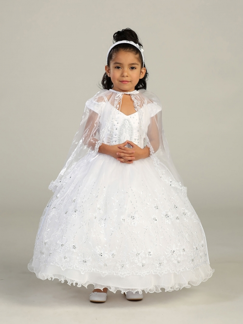 TT_2184 - Girls Baptism and Christening Outfit Set- Style 2184 ...