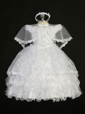 Christening Dresses - Girls Christening Outfits | Flower Girl ...