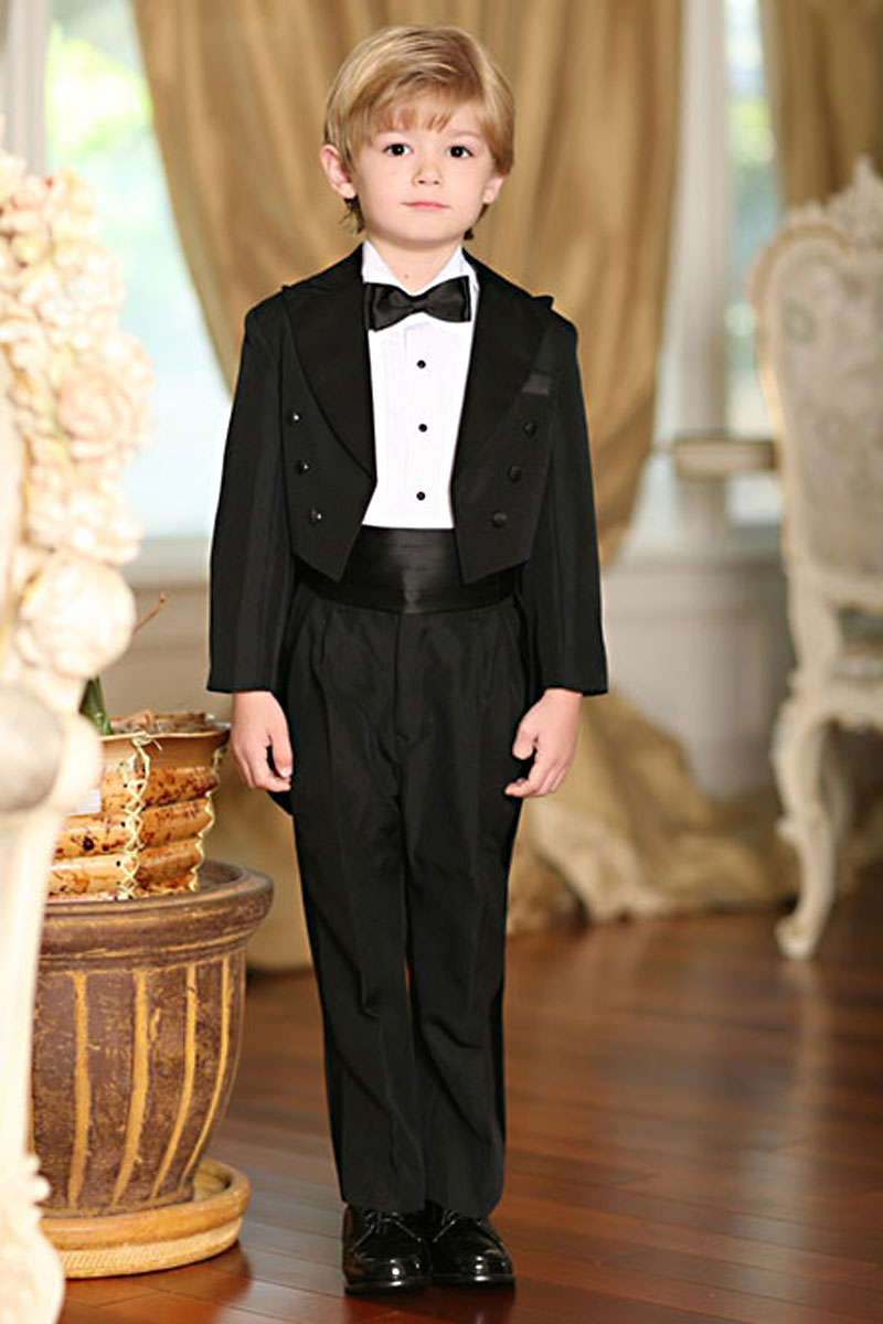 Tt 4001 Boys Suit Tails Tuxedo Style 4001 In Choice Of