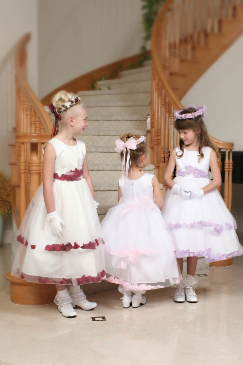 f0df441f575 TT 5251 13 - Flower Girl Dress Style 5251- Sleeveless Double Layer Satin  And Tulle White Petal Dress - Lilac - Flower Girl Dresses - Flower Girl  Dress For ...