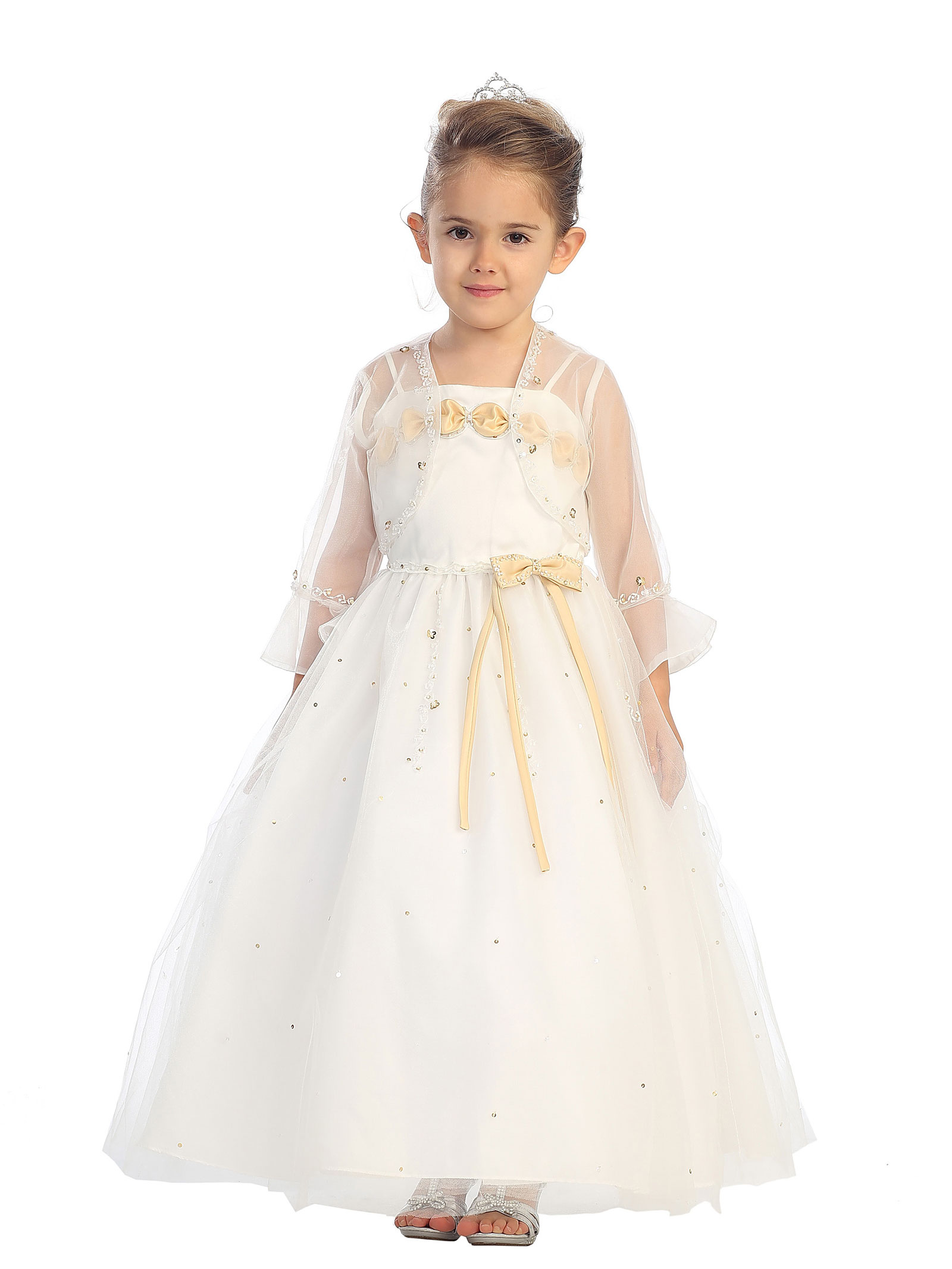 Long Sleeve Dresses - Flower Girl Dresses - Flower Girl Dress For Less