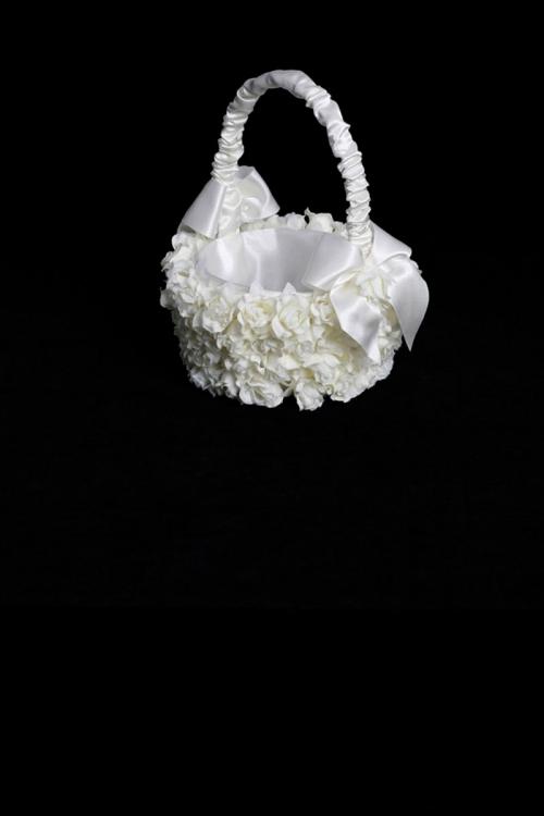 Ttbk3 flower girl basket style bk3 white with applied flowers flower girl basket style bk3 white with applied flowers mightylinksfo
