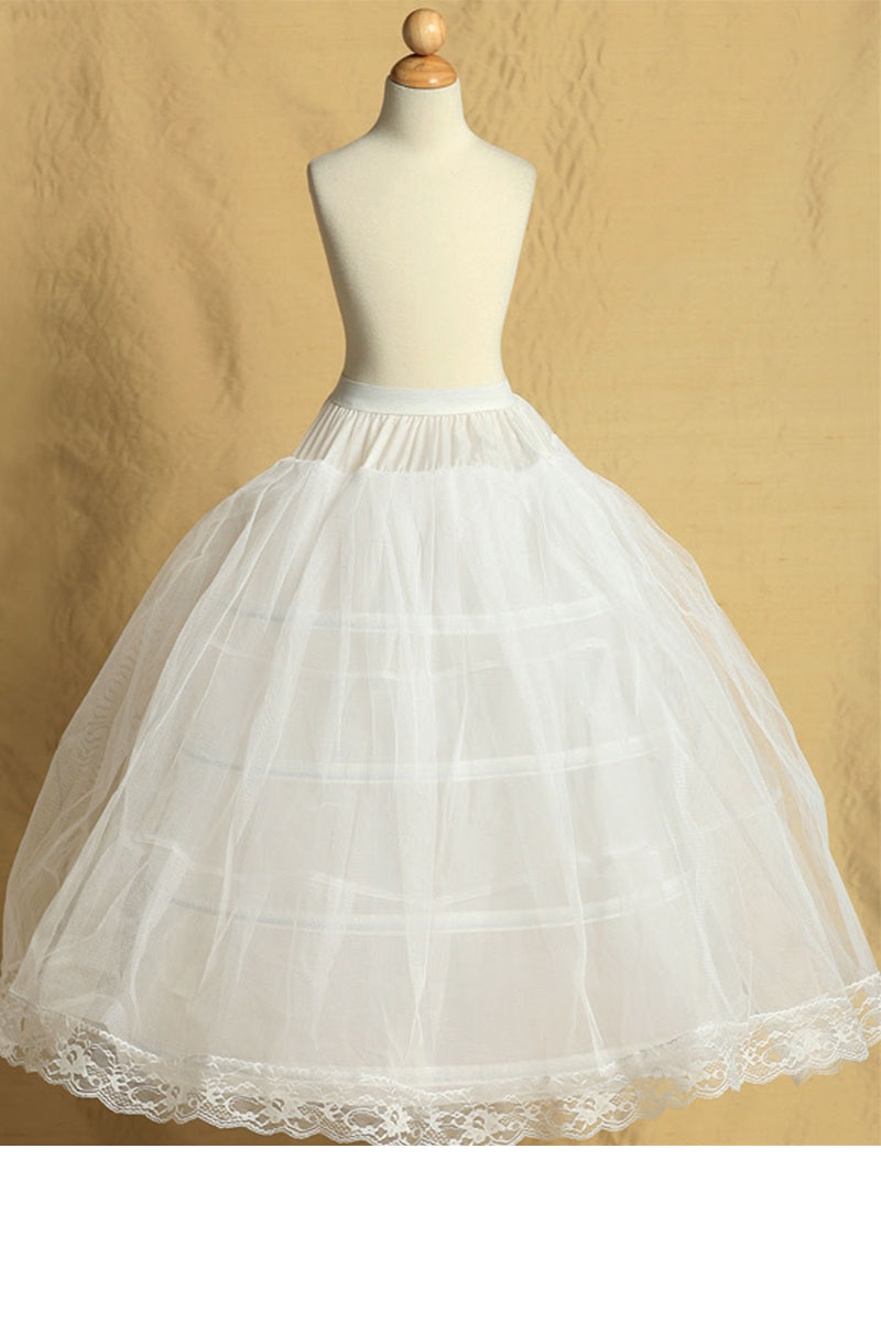 Tt P8 3 Child Petticoat P8 3 Petticoats Flower Girl