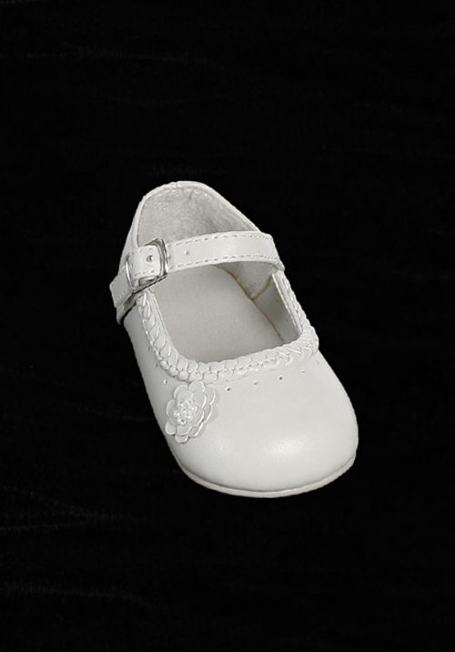 Tts47 flower girl shoe style s47 soft patent mary jane shoe with flower girl shoe style s47 soft patent mary jane shoe with cute flower infant mightylinksfo