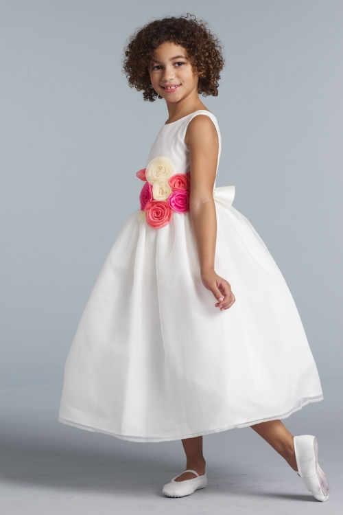 Ua409cus2 Us Angels Flower Girl Dress Style 409 Build Your Own