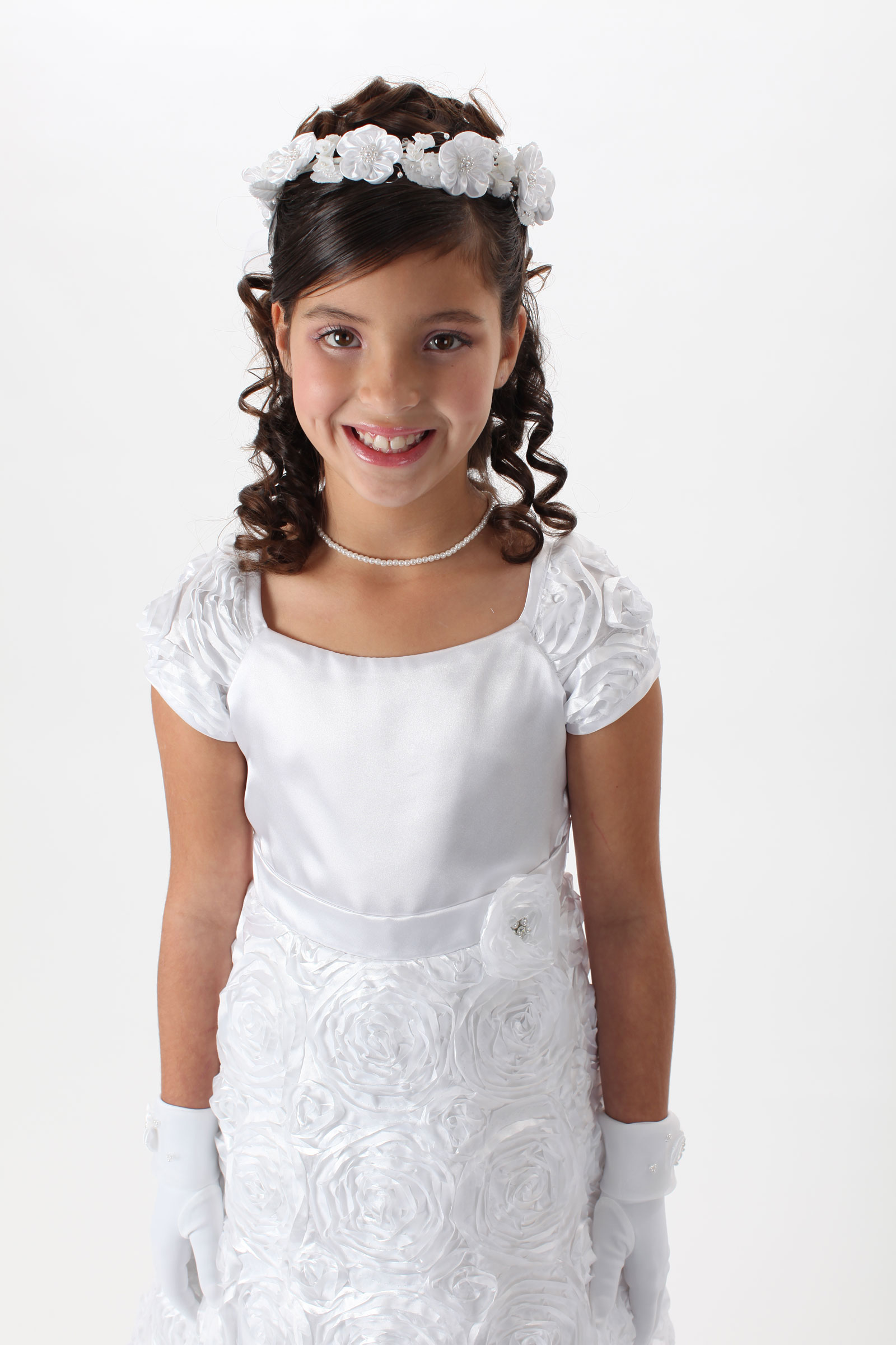 Headwreath us angels style v03 crown only no veil flower girl dress